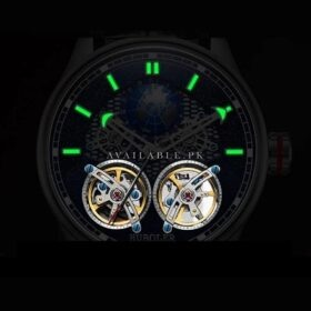 Huboler Luminous Multifunctional Rose gold Tourbillon Mens Watch Price in Pakistan
