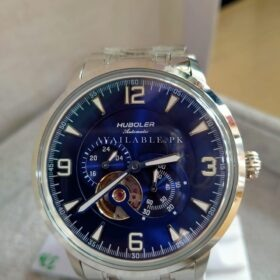 Huboler Automatic Open Heart Blue Dial Mens Watch Price in Pakistan